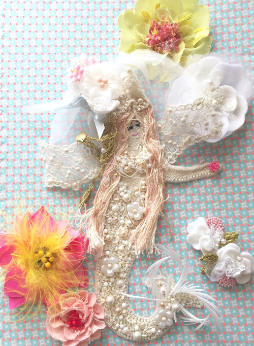 < オーダー品 > The Little Mermaid with Flowers
