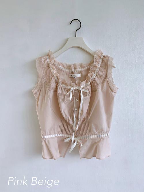 Bilitis dix-sept ans  【別注】Cotton Camisole  2020SS