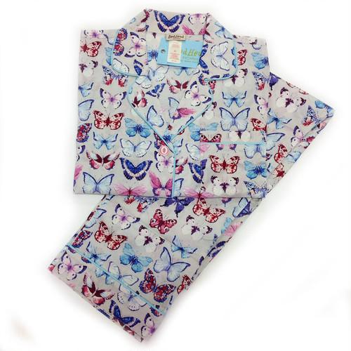 レディースパジャマ 長袖 コットン BedHead Pajamas ベッドヘッドパジャマズ A Flutter