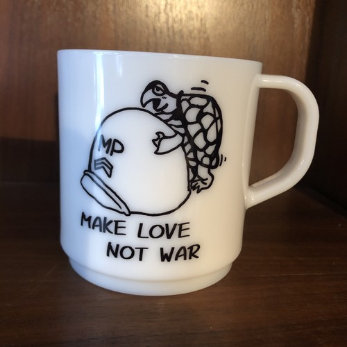 Coffee Mug Made in Japan, Make Love