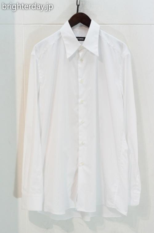 RAF SIMONS Shirt with back pleats