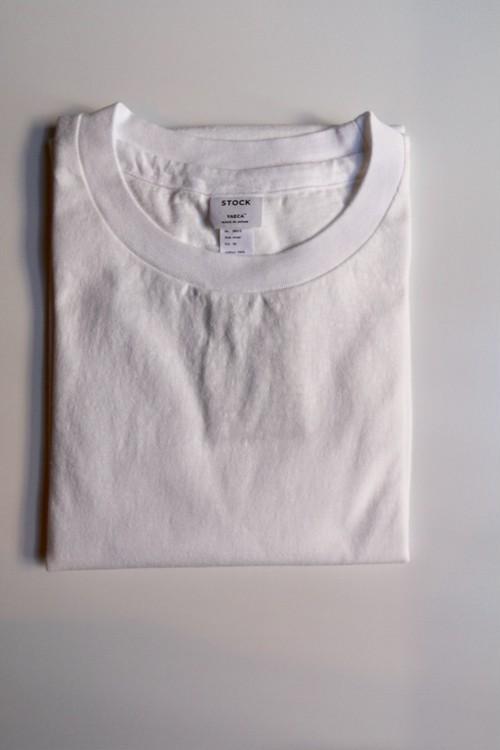 YAECA/ヤエカ  丸胴クルーネックTシャツ WHITE #89013 レディース