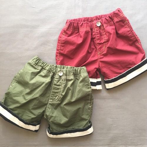 pony go round roll up shorts xs~xxl