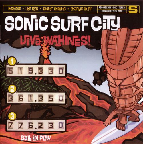 sonic surf city / viva wahines! cd