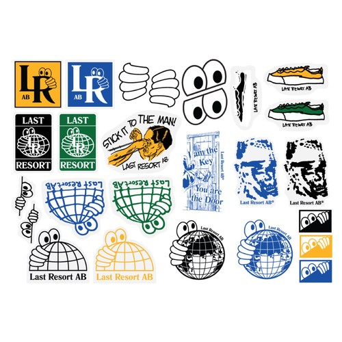 LAST RESORT AB / STICKER PACK