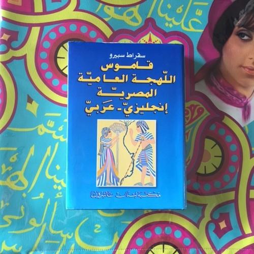 英語×エジプト方言の辞書