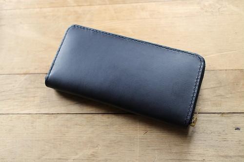 Round Zip Long Wallet 〜Liscio×Tochigi〜 ラウンドファスナーウォレット