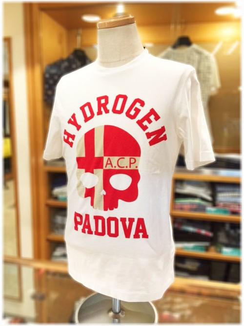 【 HYDROGEN 】        ハイドロゲン   - Italy -      クルーネック半袖Tシャツ