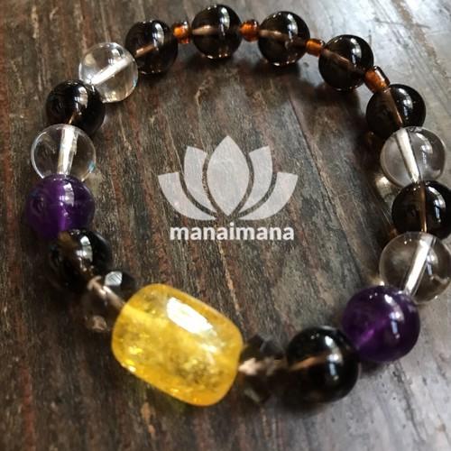 【manaimana】16cm 男女兼用 決意のブレスレット