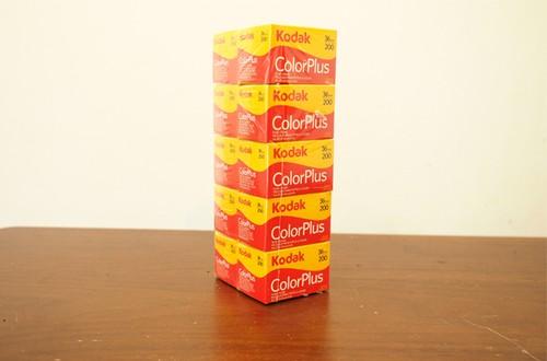 【カラーネガフィルム 35mm】Kodak(コダック)COLORPULUS200 36枚撮り (10本パック)