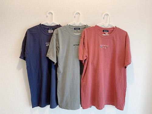 刺繍Tシャツ(ネイビー)
