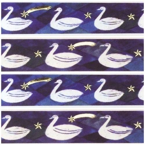 nishi shuku マスキングテープ swan
