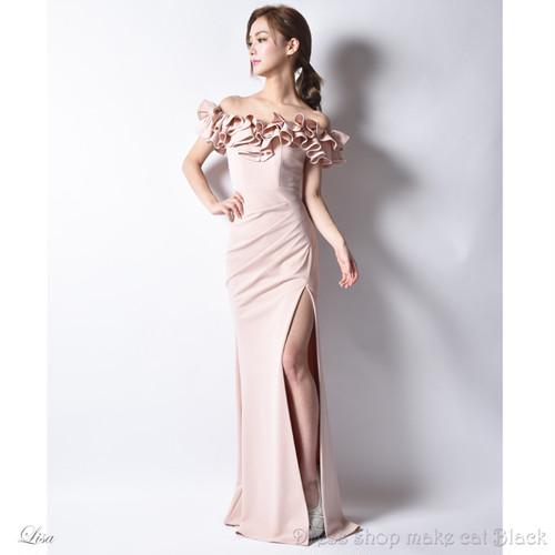 (9号) 3色展開 ロングドレス ¥24,624-(税込) キャバドレス ドレス パーティー  イルマ IRMA JEAN MACLEAN ジャンマクレーン 75081