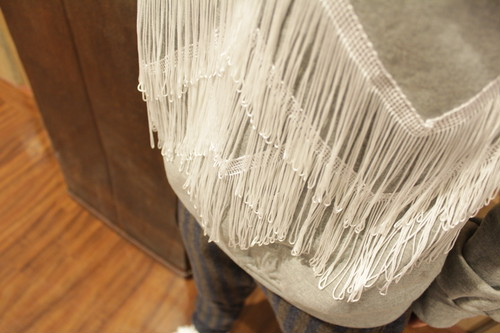 FRINGE SWEAT TOPS