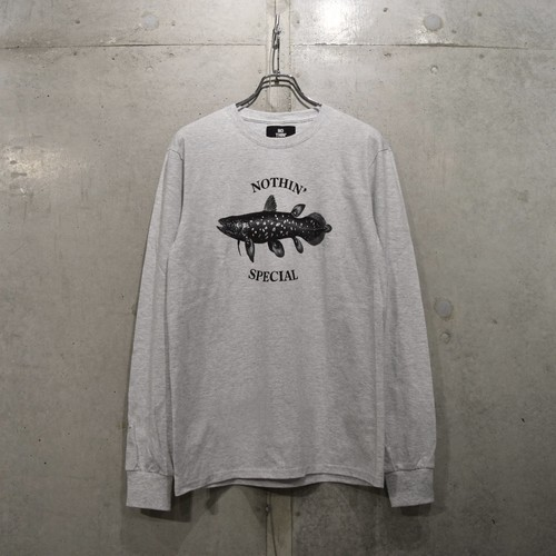 NOTHIN'SPECIAL COELACANTH LONG SLEEVE / ASH