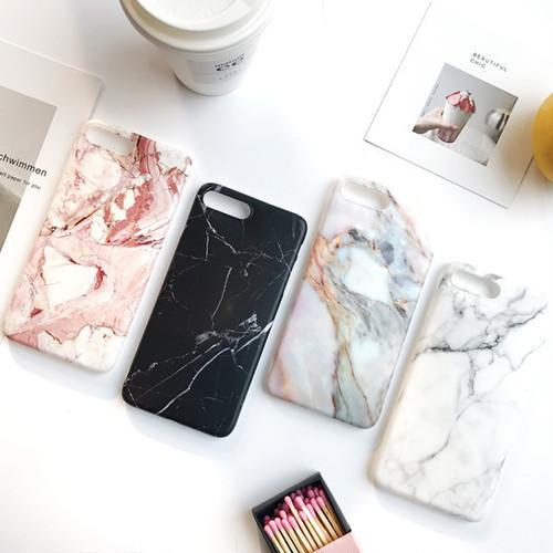 大理石 マットシリコン iPhoneケース 4色 i9011