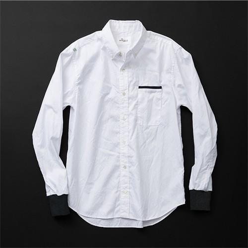 メンズ スタンダード 白×黒+P
