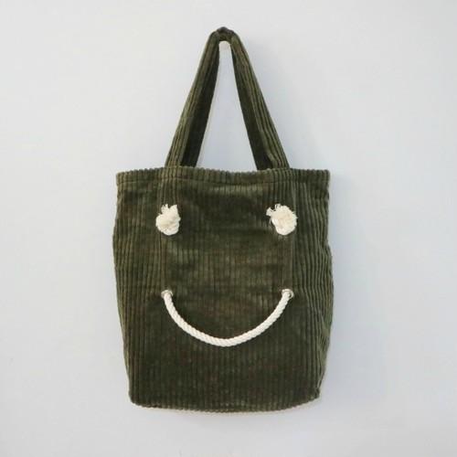 SMILE TOTE・CORDUROY・M