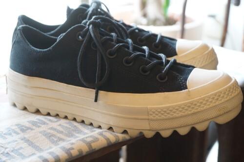 CONVERSE ALL STAR SAMPLE lift ripple Lo Sneaker