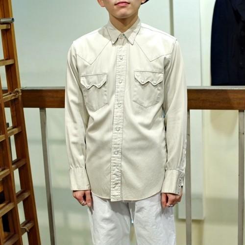 """1960s """"WASHINGTON DEE-CEE"""" Cotton Satin Western Shirt"""