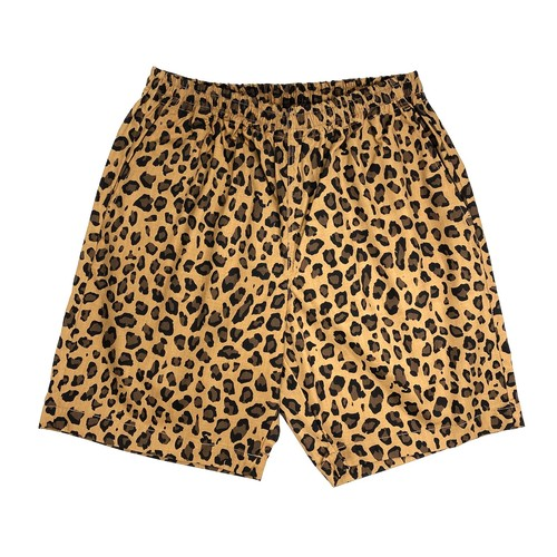 Dickies LEOPARD WORK SHORT PANTS / LIGHT BROWN