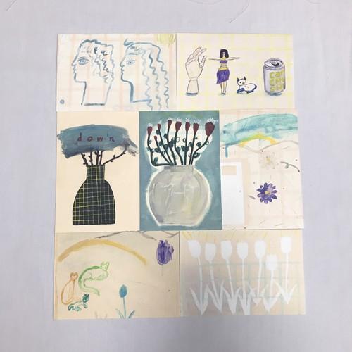 postcard set  (7sheets)