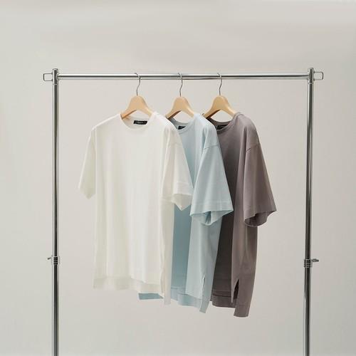 オーガニックコットン半袖TEE カラー 01010001JE02