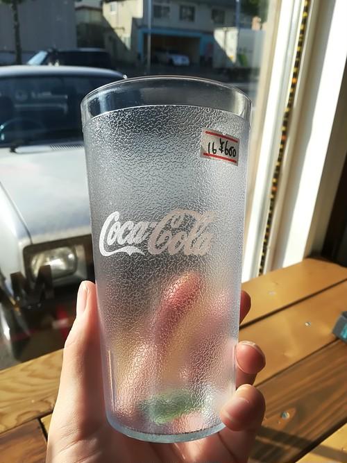 ◆メイドインUSA◆インパクトタンブラー「コカ・コーラ」