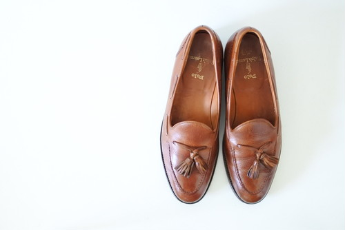 Crockett & Jones POLO RALPH LAUREN別注 タッセルローファー 9 D