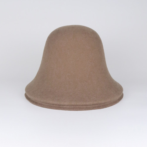 BE-L1 Wool Layer Bell Hat - BRN