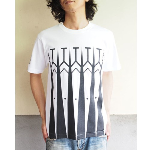 E'noiz + Catana C'noiz Tee Type1 White