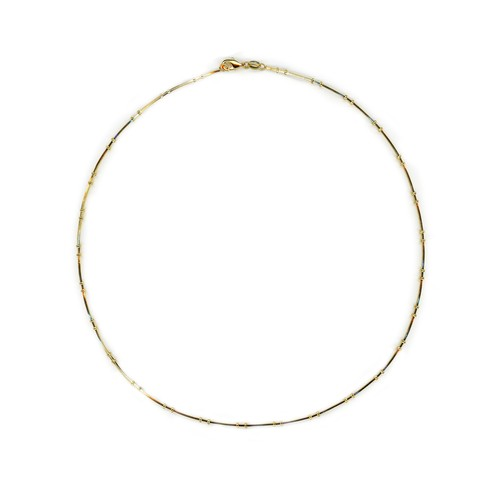 【GF1-33】18inch gold filled chain necklace