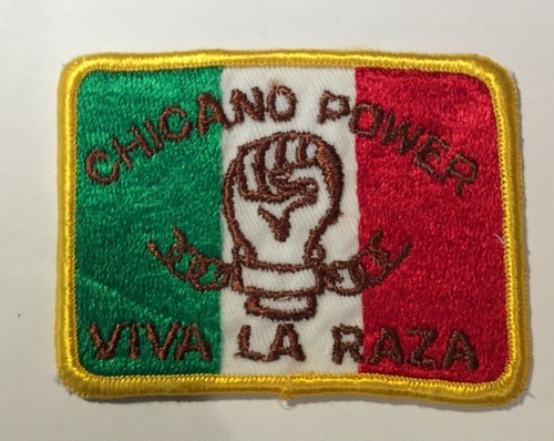 """Patch""""CHICANO POWER"""""""