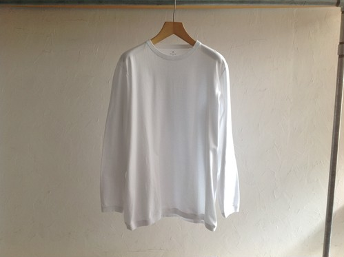 "GOWN & FOUNDATION""長袖SWEATee XXXL/L WHITE"""