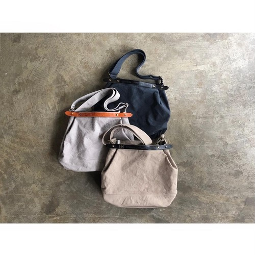 suolo(スオーロ)『CROP 2』Military Canvas 2Way Tote Bag