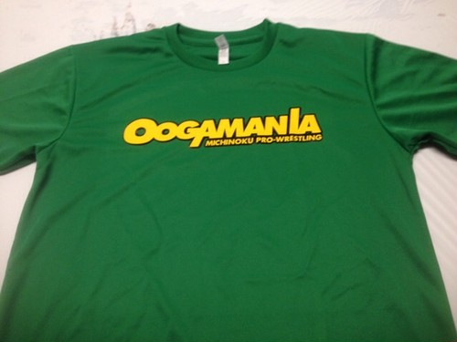 OOGAMANIAロゴTシャツ・Lサイズ