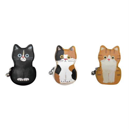 猫ポーチ(エクートミネットたて型はんこポーチ)全3種類
