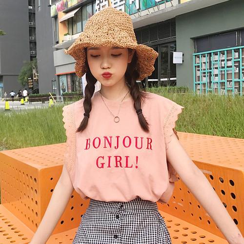 【新作10%off】fril no sleeve shirts 2427
