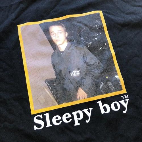 Sleepy boy×Sasha Trautvein Tee