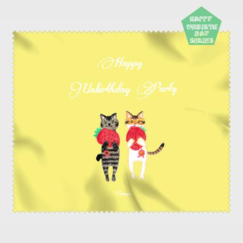 【HappyUnbirthday!ストロベリファーム】マイクロファイバークロス