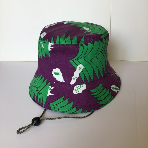 "Bucket Hat /""sound wave""02 バケットハット"
