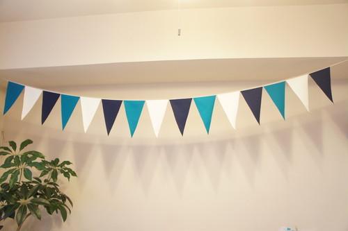 布ガーランド フラッグ 旗 結婚式 誕生日 パーティー キャンプ 飾り オーシャン