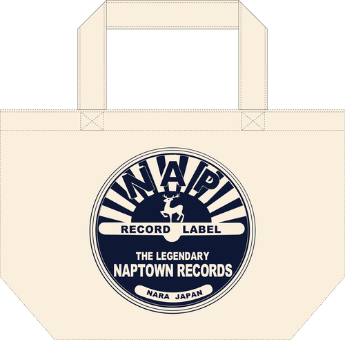NAPTOWN RECORDS トートバッグ(S)