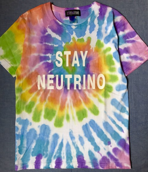 STAY NEUTRINO TIEDYE Tシャツ typeA