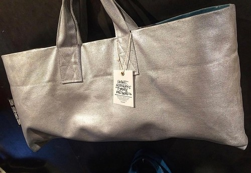 ★★★!!More Sale!!★★★ Painted‐tote OUTLET Silver