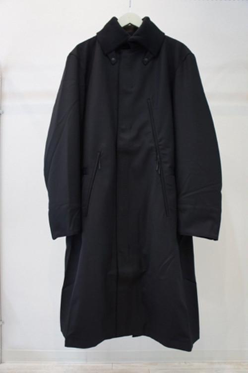 Classic Winter Wool Padded Coat -BLACK- / Y-3