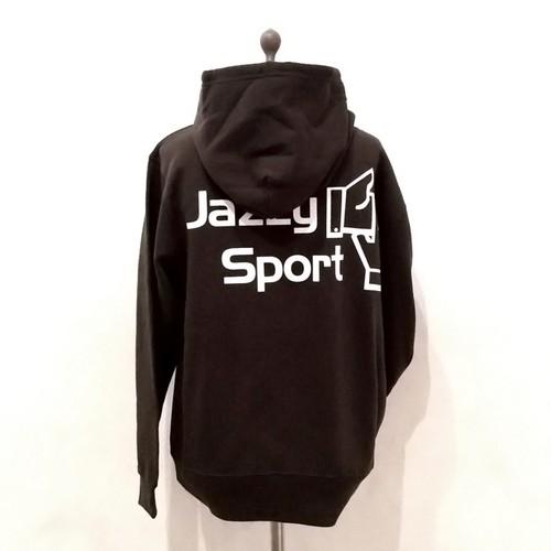 【残りわずか】JSロゴ プルオーバーパーカ/ブラック
