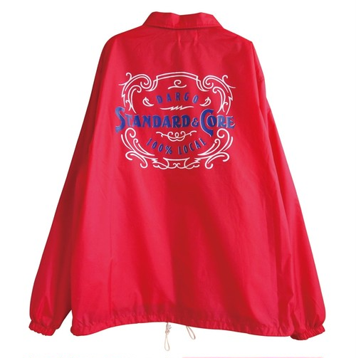 【DARGO】Working Pocket Coach Jacket (RED)