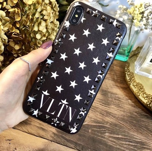 VN ロゴ スタッズ iPhone case