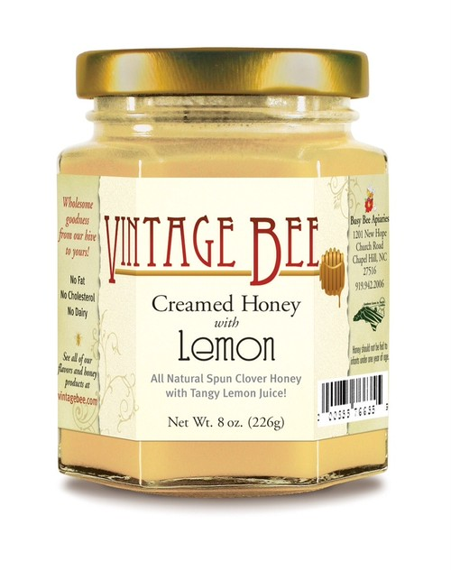VintabeBEE Creamed Honey Lemon  **雑誌 Veggy 最新号3月10日号に掲載**